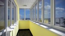 Какие окна выбрать для остекления балкона?