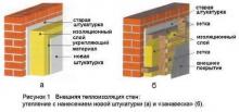 Утепленная стена сэкономит до 50% тепла вашего дома